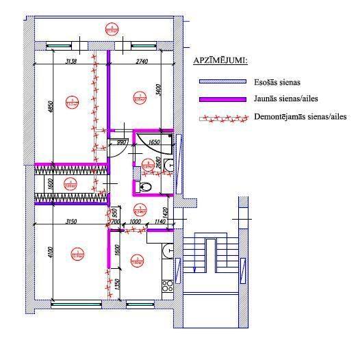 Квартир по 60 квадратных метров