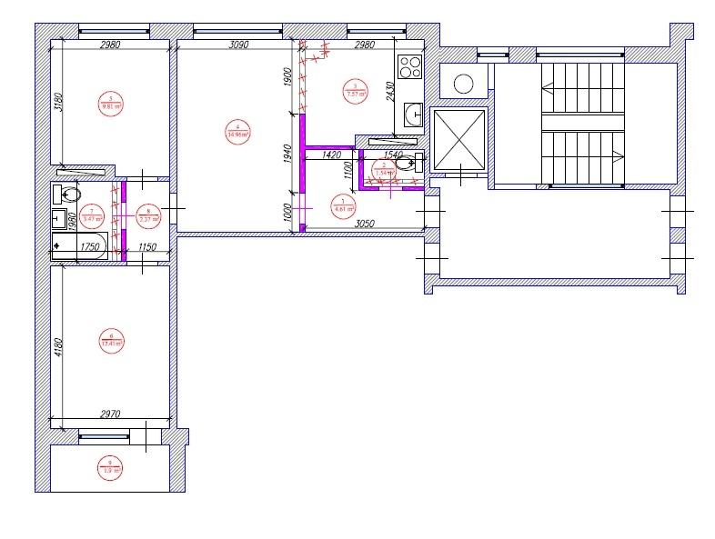 Ремонт квартир под ключ в Раменском: цена за квадратный метр