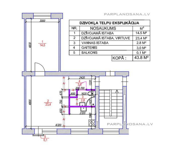 Перепланировка квартиры - Русскоязычная Эстония