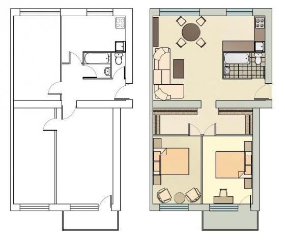 3 istabu dzīvoklis 318. sēr.