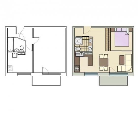 1_istabas dzīvoklis 1-467A.sērja