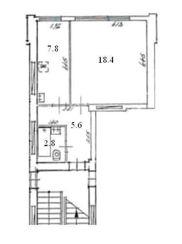 103 sērijas 1 ist. dzīvoklis