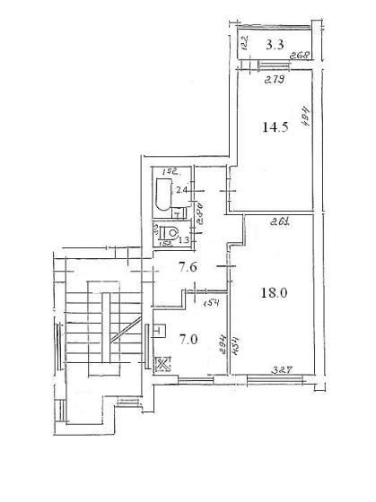 103 sērijas 2 ist. dzīvoklis