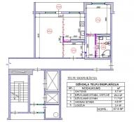2-ist. dzīvokļa pārplānošana 104. sērija