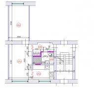 Hruščovka 2-ist. dzīvokļa pārplānošana