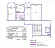 2-ist. dzīvokļa pārplānošana 119 sērija