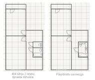 2 комнатная квартира 464 серии