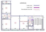 3-ist. dzīvokļa pārplānošana (602 sērija)