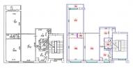 3-ist. dzīvokļa pārplānošana (464 sērija Lietuviešu projekts)