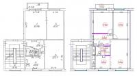 3-ist. dzīvokļa pārplānošana (1-467А sērija)